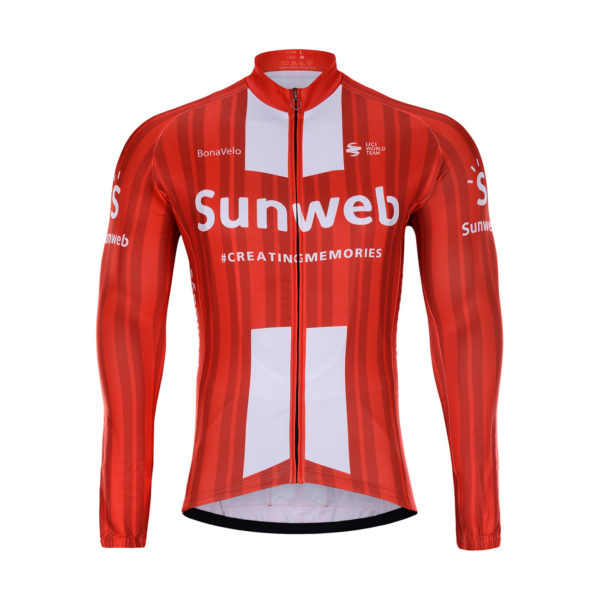 Cyklistická bunda zimní Sunweb 2020