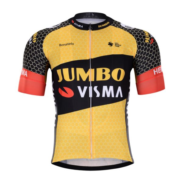 Cyklistický dres Lotto-Jumbo 2021 Visma