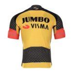Cyklodres Lotto-Jumbo 2021 Visma zadní strana