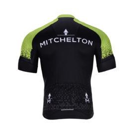 Cyklodres Mitchelton-Scott 2020  zadní strana