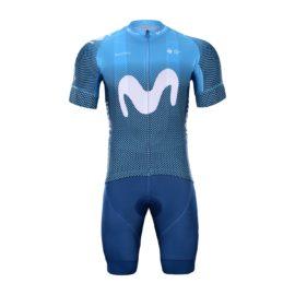 Cyklistický dres a kalhoty Movistar 2021