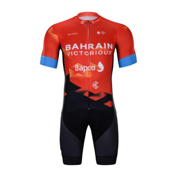 Cyklistický dres a kalhoty Bahrain 2021 Victorious