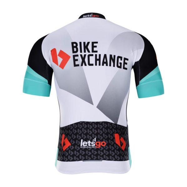 Cyklodres BikeExchange 2021 zadní strana