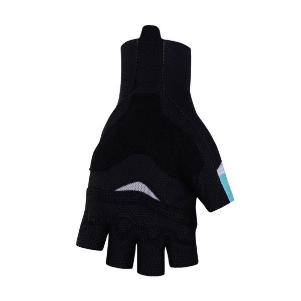 Cyklistické rukavice Bora-Hansgrohe  2021 dlaň