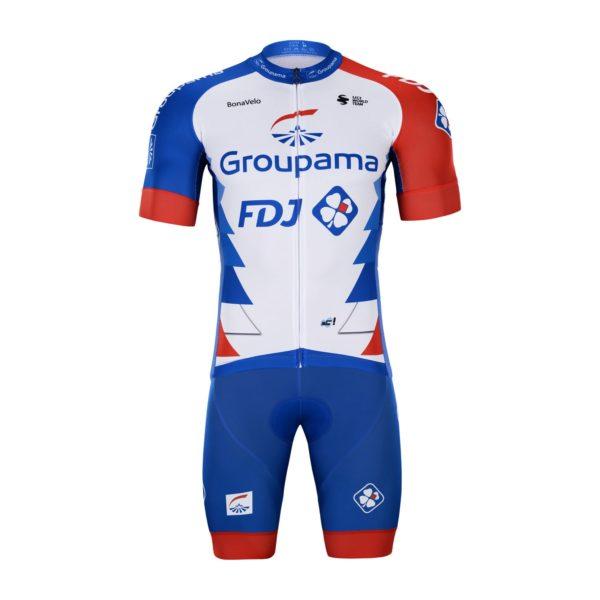 Cyklistický dres a kalhoty Groupama 2021 FDJ