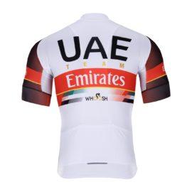Cyklodres UAE 2021 Team Emirates zadní strana