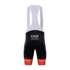 Cyklokalhoty UAE 2021 Team Emirates zadní strana
