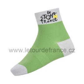 Ponožky Tour de France zelené klasik