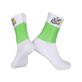 Ponožky Tour de France zelené cyklo